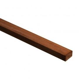 Lambourde en bois exotique 2100 x 65 x 42 mm