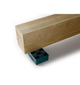 Cales crantées pour lambourdes réglables 8-12 mm