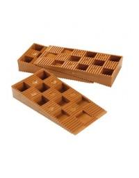 Cales crantées réglables 13-18 mm NIVO pour terrasse bois