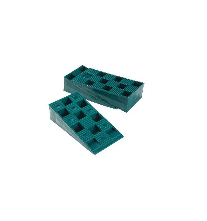 Cales crantées réglables 19-30 mm pour terrasse