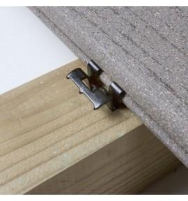 Clips invisibles COBRA pour terrasse