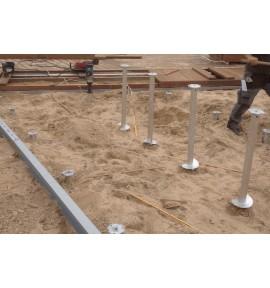 Vis de fondation pour terrasse WEASYFIX 1000 mm