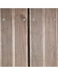 Lame terrasse Sélection pin Cl4 marron 2400x145x22 mm