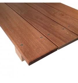 1 m² de Lames de terrasse en Cumaru 21x145 mm