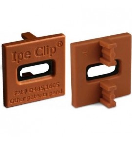 Clips invisibles pour terrasse ipé Deckwise