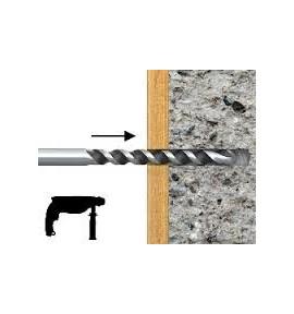 Chevilles à frapper 8 x 100 mm pour fixation terrasse