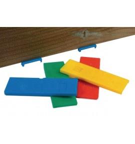 Cales terrasse plates 2-3-4-5 mm NIVO - Sachet de 200 pcs