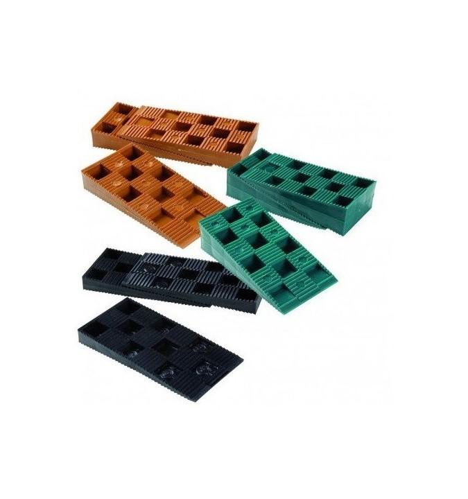 60 Cales crantées réglables 10-30 mm NIVO