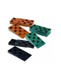 60 Cales crantées réglables 10-30 mm NIVO pour terrasse bois
