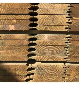Lame de clôture 1,95 m en bois autoclave