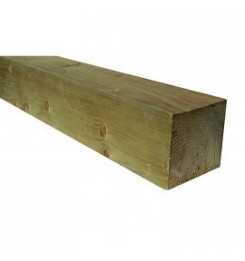 Poteau bois autoclave 7x7 cm pour cloture