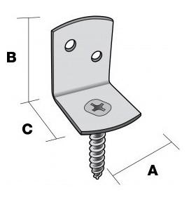 Connecteur de palissade Simpson Strong-Tie