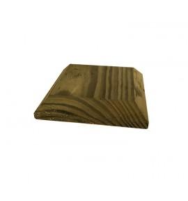 Chapeau de poteau bois 9x9