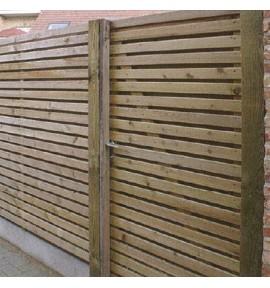 Portillon 100x180 cm Strada en bois autoclave - GARDIVAL