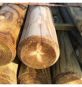 Rondin 10x250 pour cloture bois autoclave