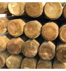 Rondin 10x240 pour cloture bois autoclave