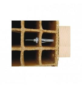 Chevilles à frapper CQLV 8x140 mm matériaux creux et pleins