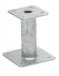 Pied de poteau élévateur fixe 150 mm PPA150 Simpson