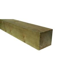 Poteau bois 9x9 cm Long. 2,40 m en pin traité Classe 4
