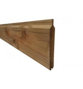 Lame de palissade bois marron 2,40 m