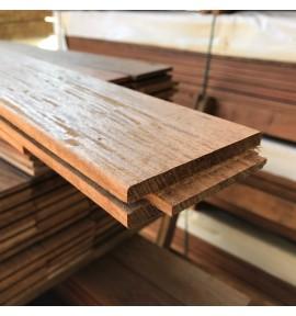 1 m² de lames de terrasse en ipé à clipser 95x21 mm