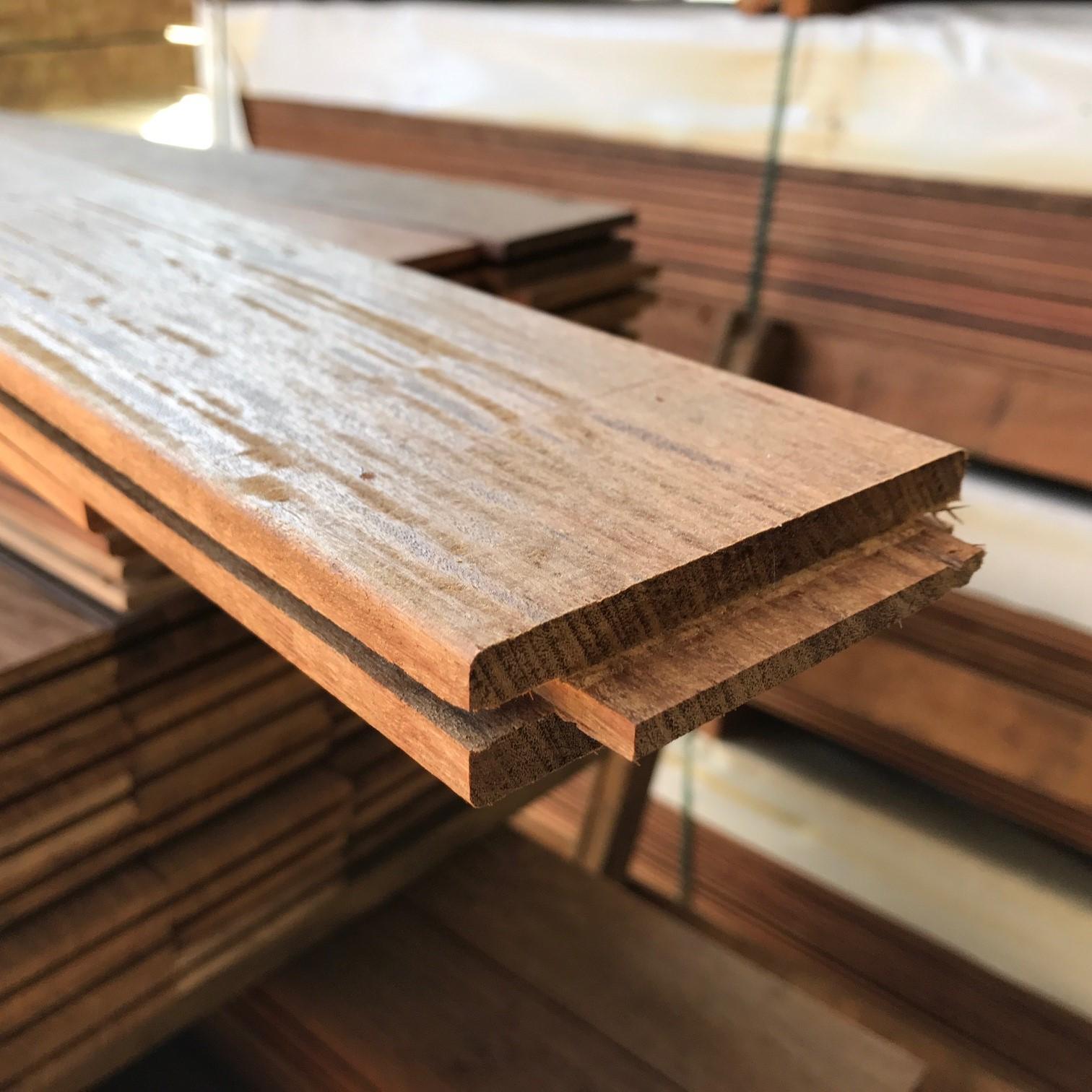 Ou Acheter Bois Ipe 1 m² de lames terrasse ipé lisse à clipser 95x21 mm | kulturbois
