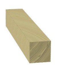 Poteau 15x15 cm Long. 1,00 m en bois autoclave
