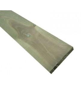 Planche pour mur de soutenement 2400x250x40 mm en bois autoclave