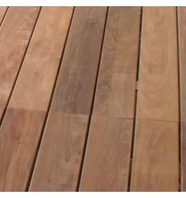 Lame de terrasse ipé 1850x140x20 mm lisse à visser