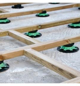 Plot terrasse piscine réglable 40-60mm JOUPLAST