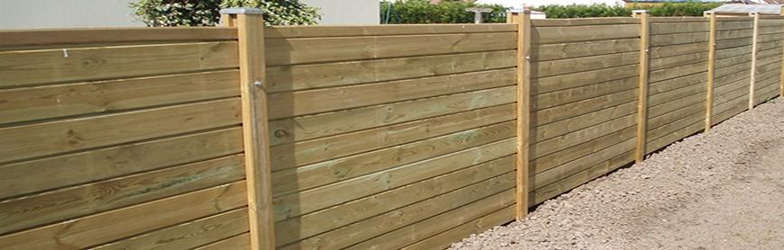 Kits clôture bois autoclave