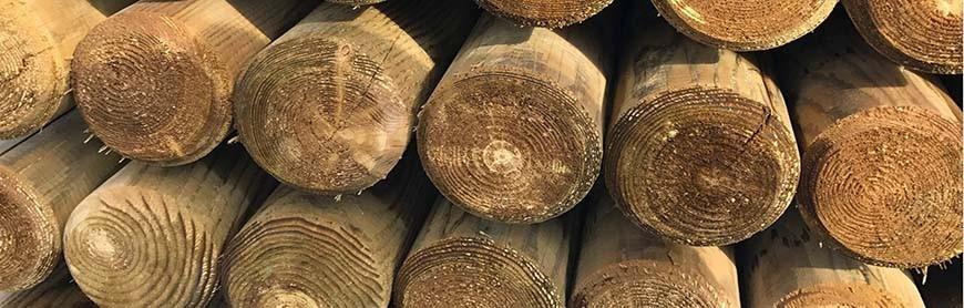 Rondins bois autoclave
