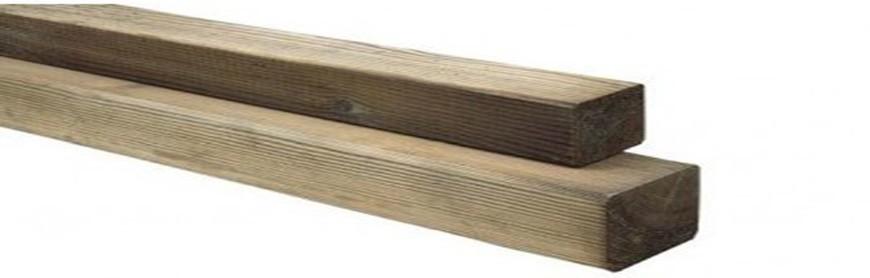 Poteaux bois autoclave